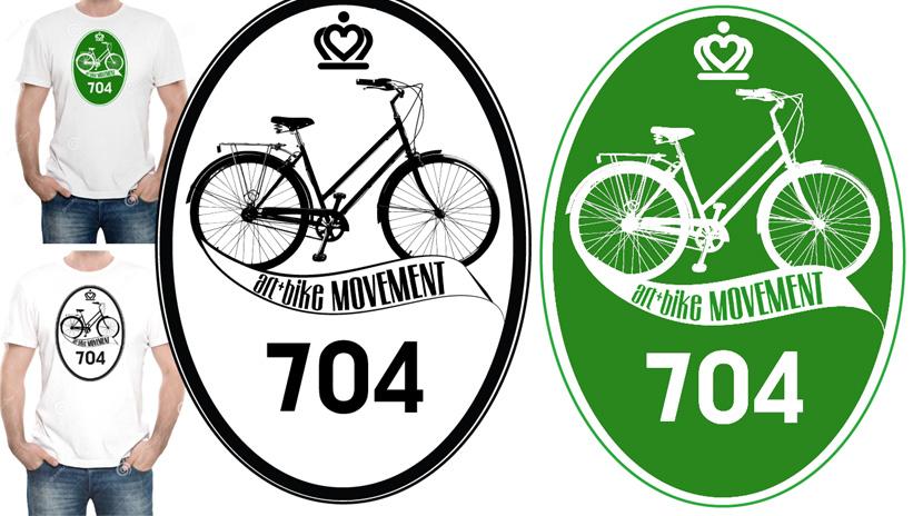 Art + Bike Movement branding.