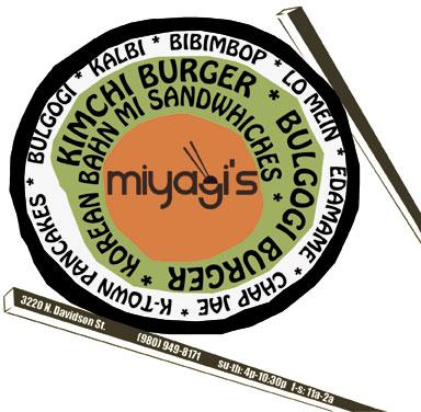 Miyagi's print advertisement.