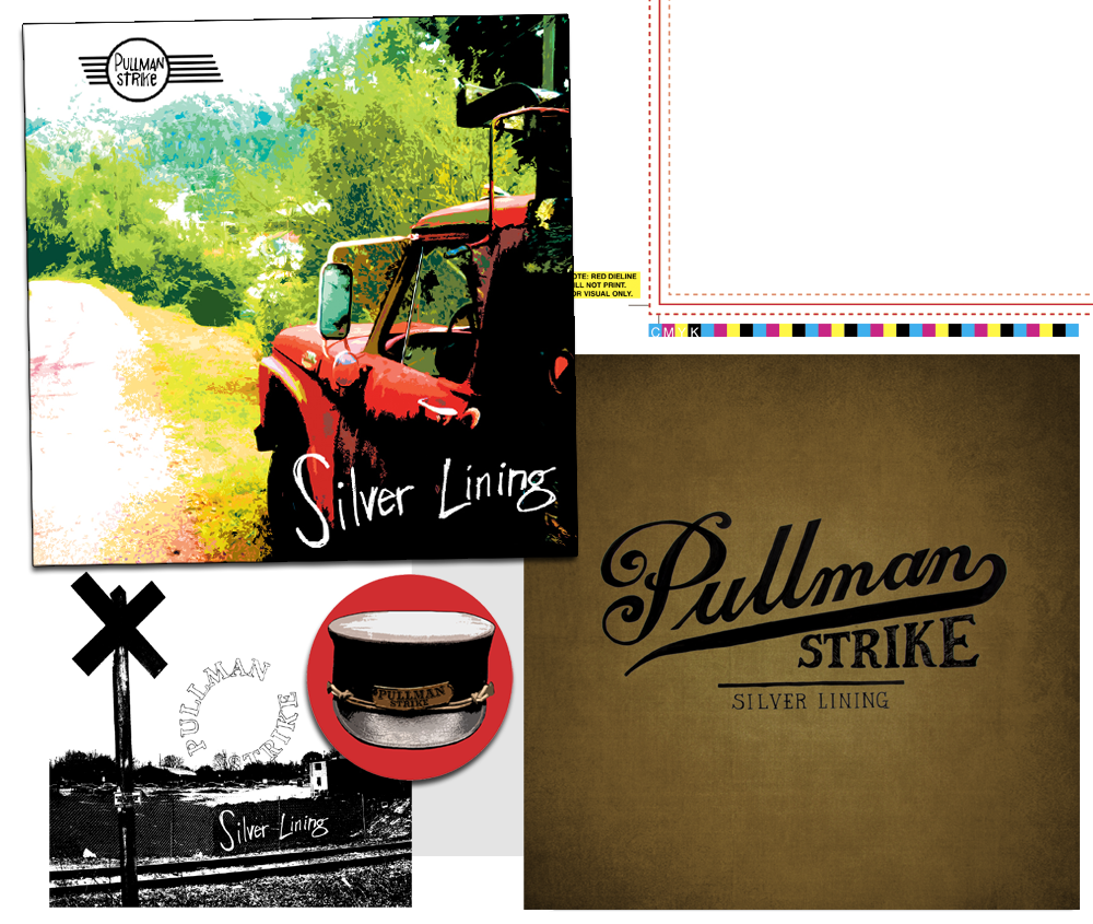 "Pullman Strike 4 Color CMYK (with alternates) LP 12""."