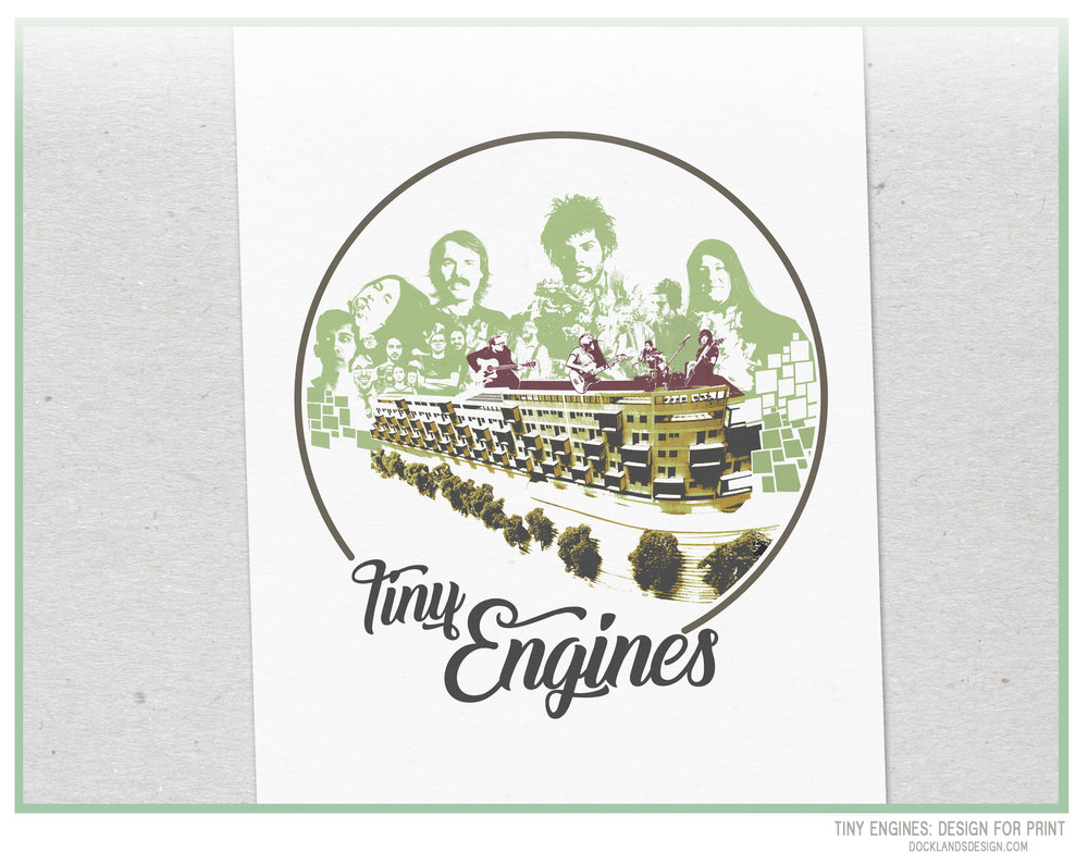 Design for Art or Promo, Tiny Engines.