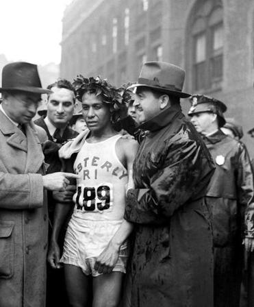 "When Ellison M. ""Tarzan"" Brown won the 1939 Boston Marathon, the crowd at the finish line was smaller — and the prize money was nonexistent."