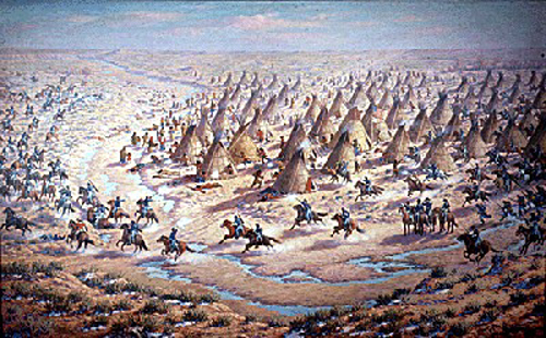 Pictorial of the Sand Creek Massacre
