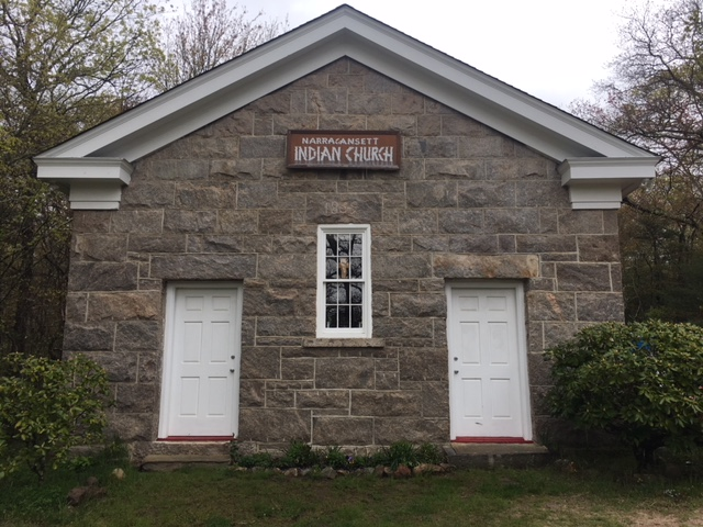 "The ""Framing Community Spirit: The Narragansett Indian Church"" exhibit traces the history and significance of the church through the eyes of tribal elders. Come learn how this meeting house became a treasured center of the Narragansett community."