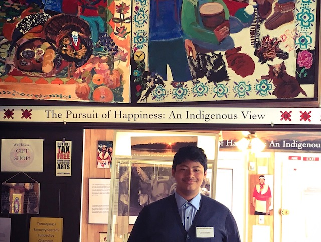 "Explore Narragansett history through ""The Pursuit of Happiness: An Indigenous View"", a travel through time which reflects on the denial of Indigenous right to life, liberty, and the pursuit of happiness.  Newly Removated for 2018!"