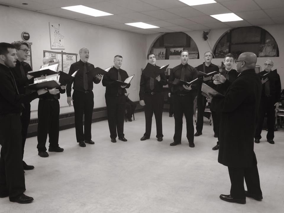 choral rehearsal