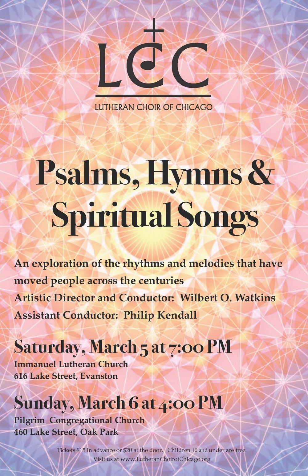 Psalms, Hymns & Spiritual Songs - March, 2016