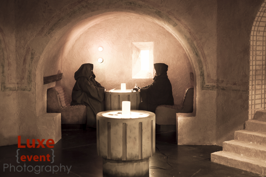 A complete replica of the Mos Eisley Cantina was one of the most popular attractions.