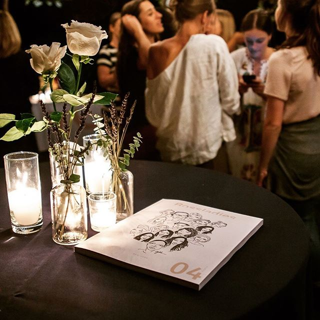 Release party for @bossladiesmag issue no. 4. #eventphotography #bossladiesmagazine #losangeles #party #launch #candles #magazine #editorial #nightime #nightphotography