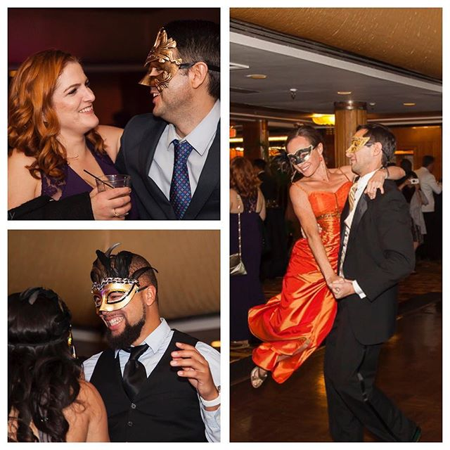 Loved capturing these guests having a great time! #moments #drama #holidayparty #stampsdotcom #masquerade #1930s #details #dancing #masqueradeball #masqueradeparty