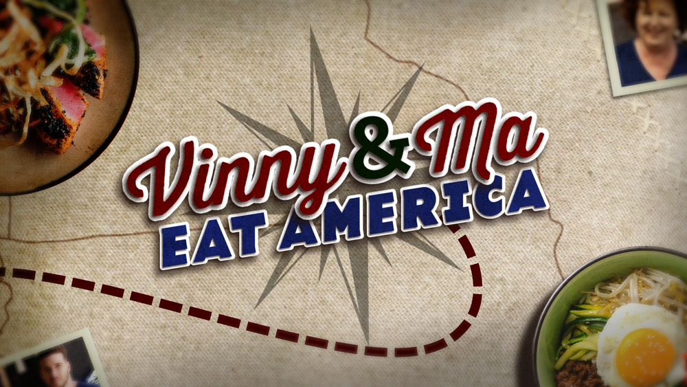 VINNY & MA EAT AMERICA