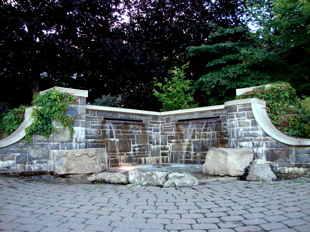 Waterfront Park - Water Feature