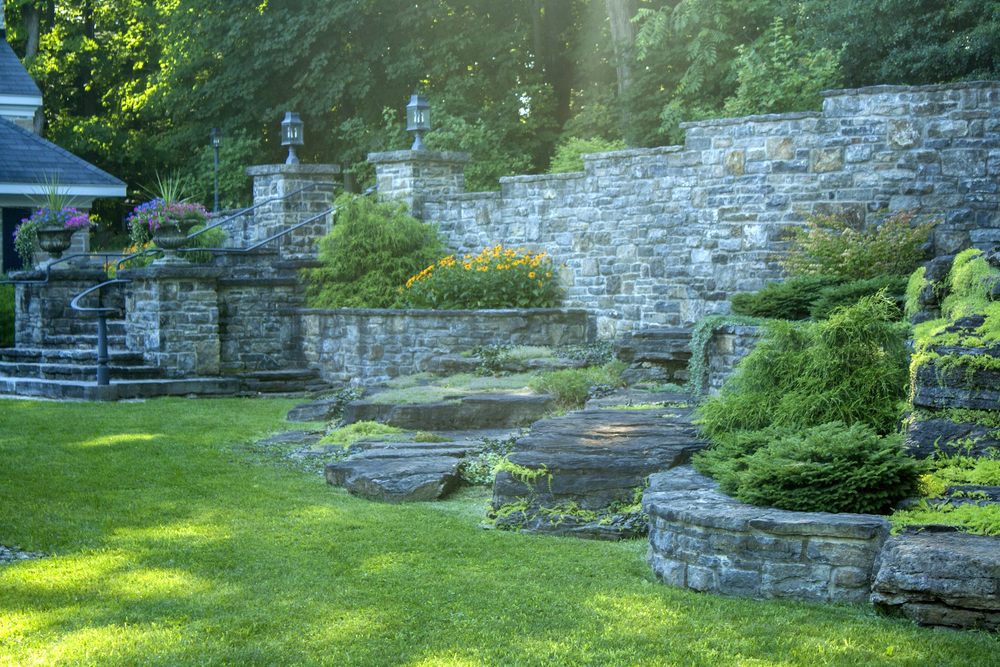 New Home Heritage Feel | Landscape Architecture | Riverview Design Solutions | Prescott, Ontario, Canada