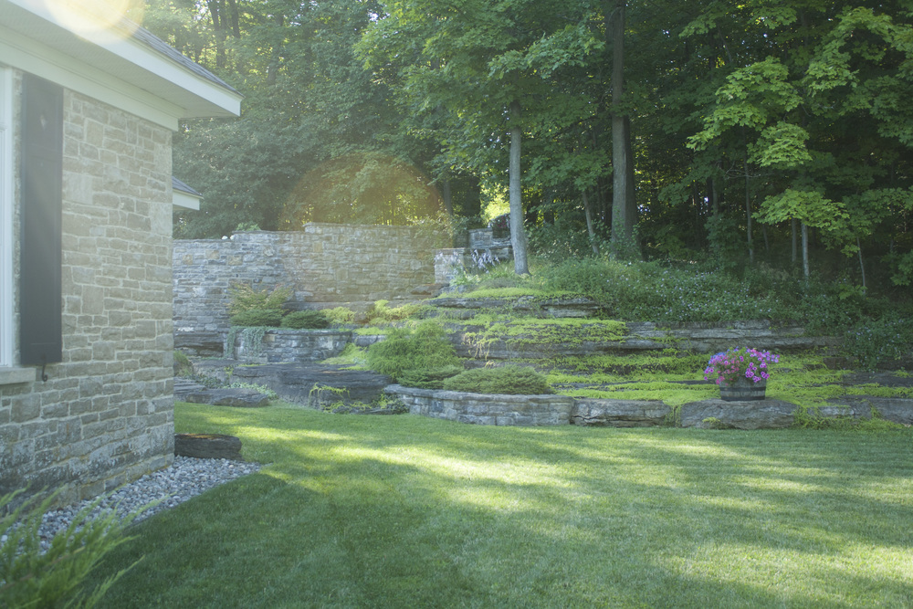 New Home With A Heritage Feel | Landscape Architecture | Riverview Design Solutions | Prescott, Ontario, Canada