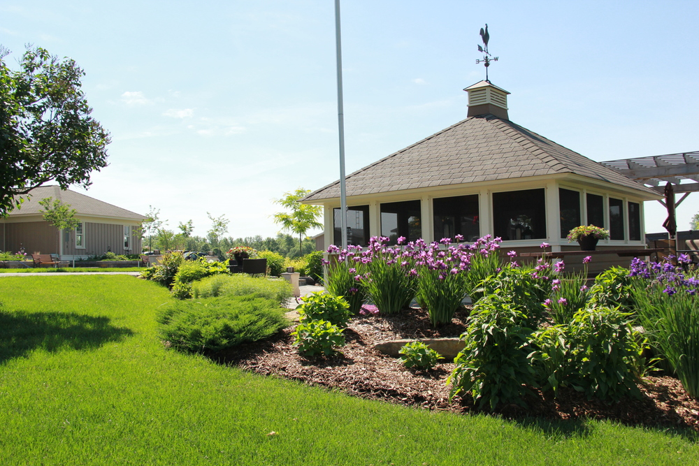 Country Home | Gazebo Gardens | Landscape Design | Landscaping | Riverview Design Solutions | Prescott, Ontario, Canada