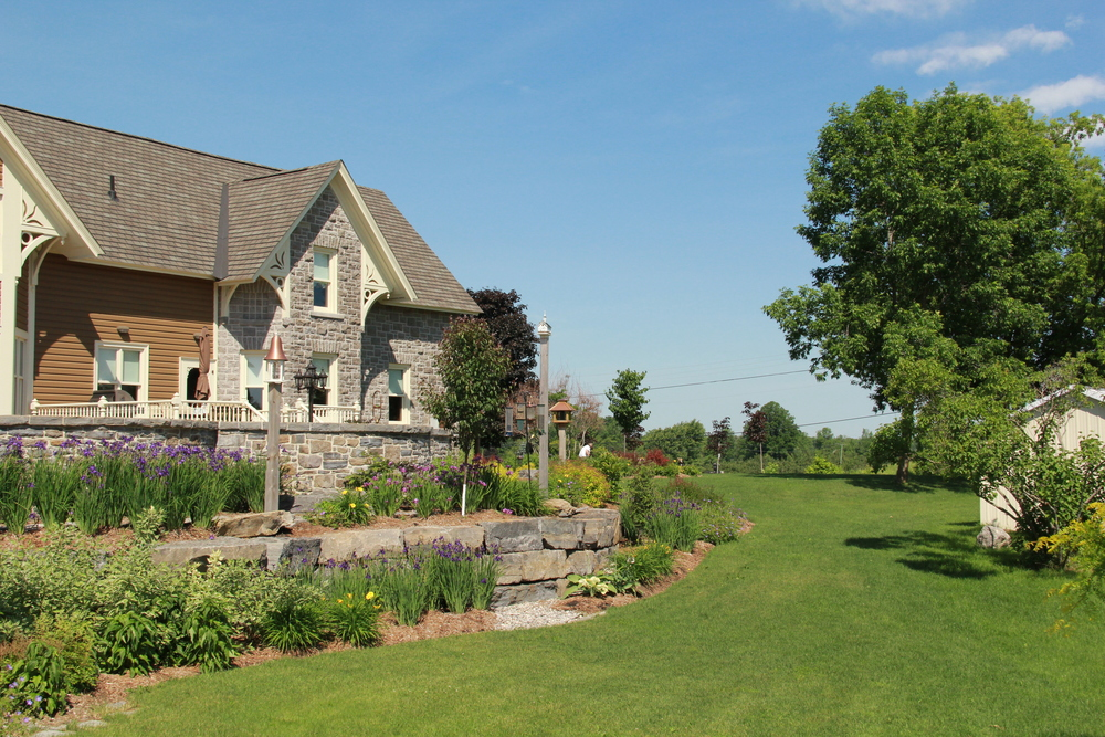 Country Home | Stone House | Landscape Design | Landscaping | Riverview Design Solutions | Prescott, Ontario, Canada