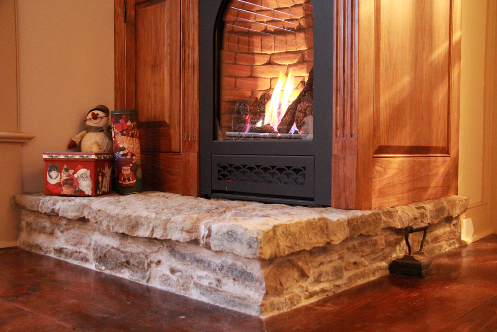Fireplace and Media Console Design | Riverview Design Solutions | Prescott, Ontario, Canada