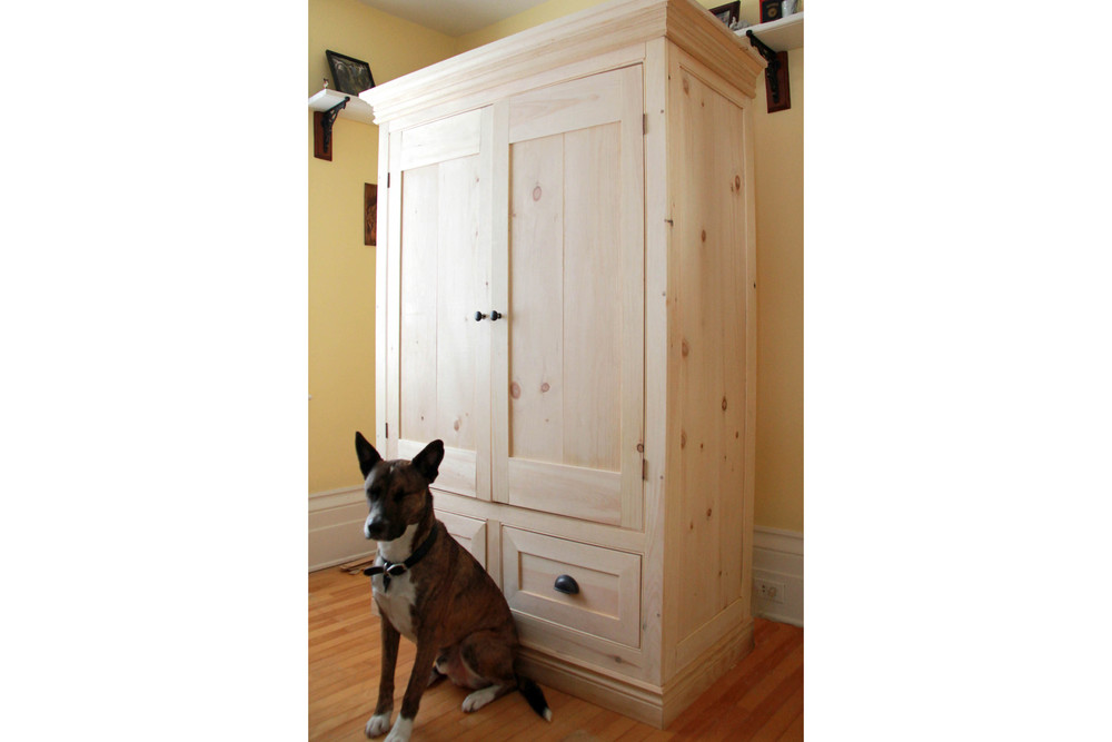Riverview Design Solutions - Brockville Ontario - Furniture Design - Dog - Armoire tall.jpg