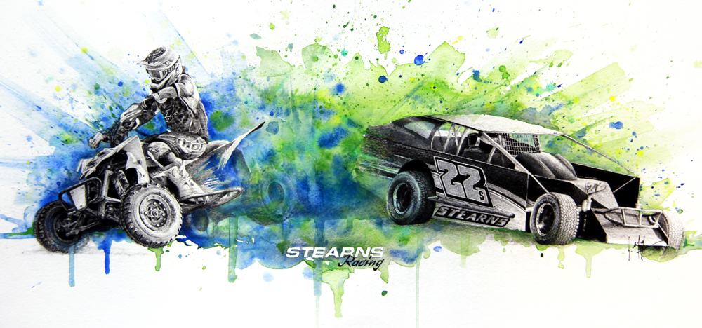STEARNS RACING PORTRAIT