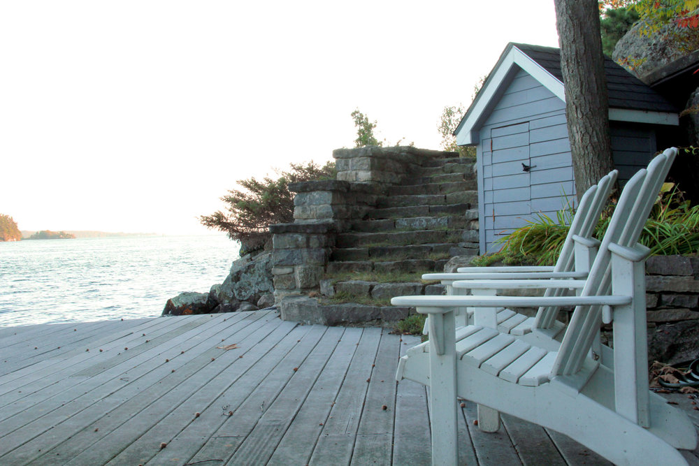Riverview Design Solutions - Waterfront Dock Area - Brockville Ontario - Thousand Islands Landscape Design.jpg