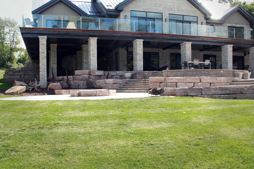 Riverview Design Solutions - Landscape Architecture - Brockville Ontario - Thousand Islands Waterfront Home - Patio.jpg