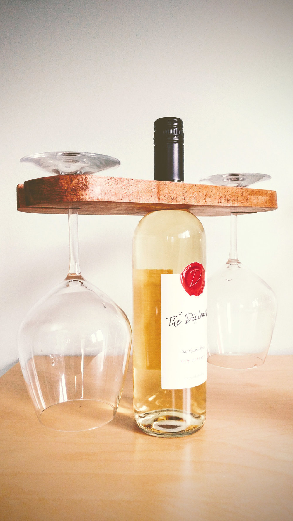 Riverview Design Solutions _ Wooden Wine Glass Holder _ Wine for Two _ Brockville.jpg
