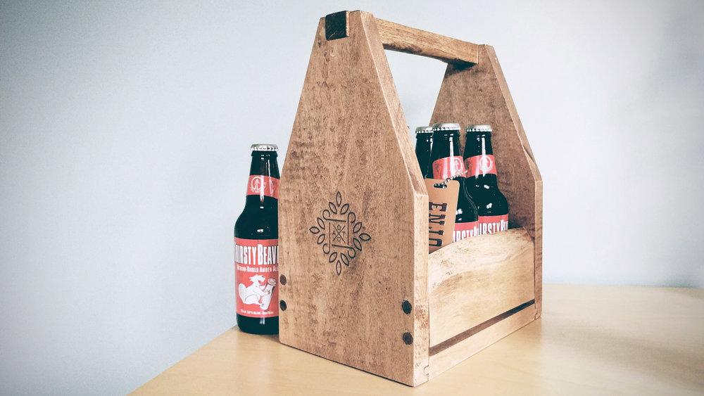 Riverview Design Solutions_Beer Holder_6 Pack_Rustic.jpg