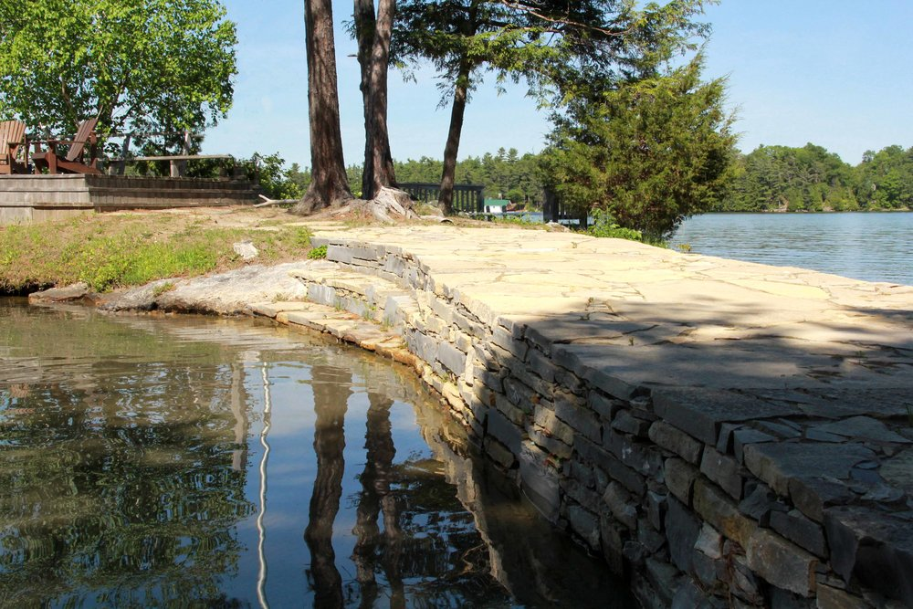 Riverview Design Solutions_Charleston Lake Cottage_Drylaid Stone Causeway - Copy.jpg