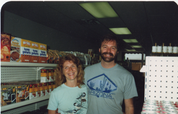 Paul & Sheila pooled together $1500 in savings and opened New Morning Natural Foods in Biddeford, Maine.