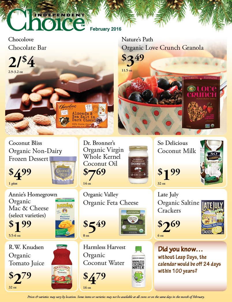 Check out our February Sales flyer!