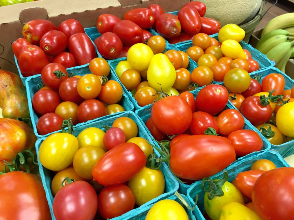 Heirloom Organic Tomatoes