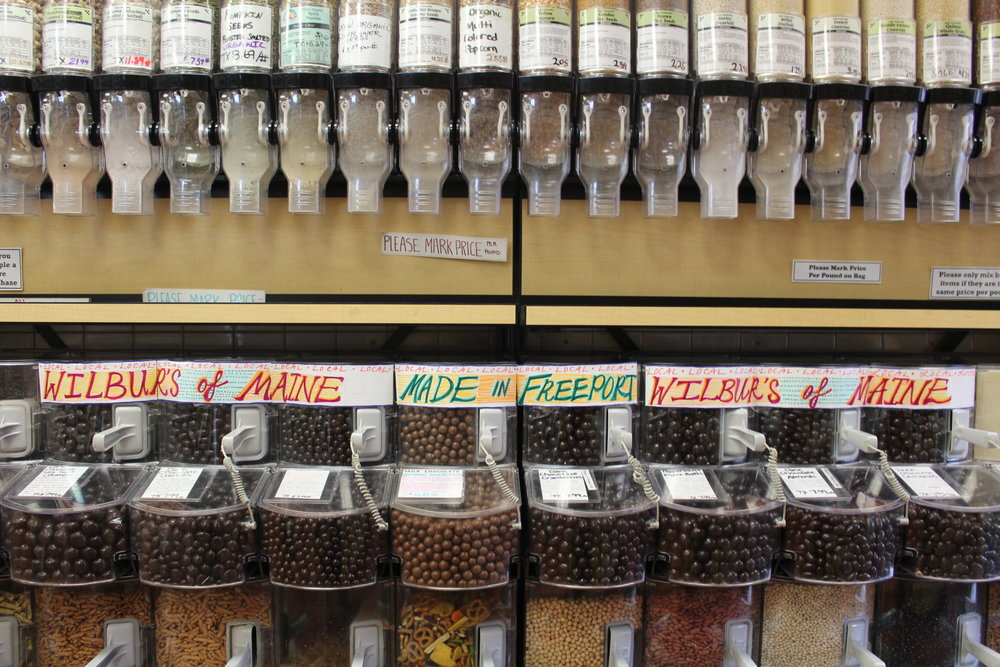 Extensive Selection of Bulk Foods