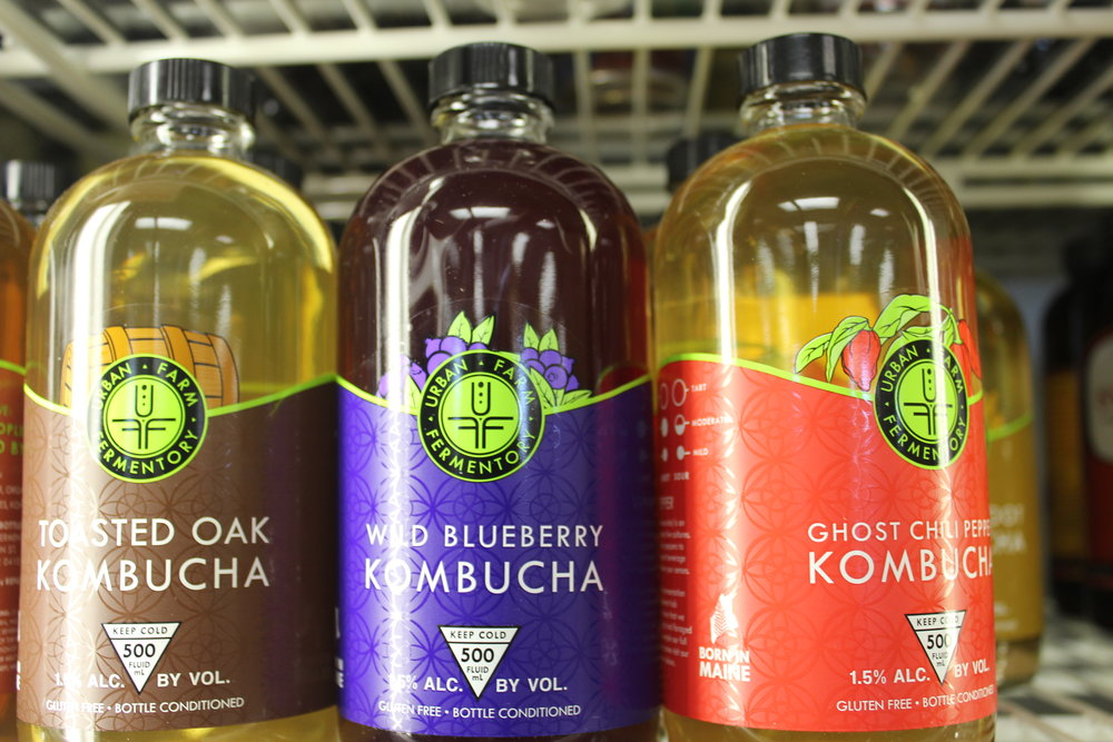 Locally Brewed Kombucha