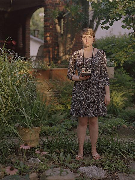 Reily with camera (2011)