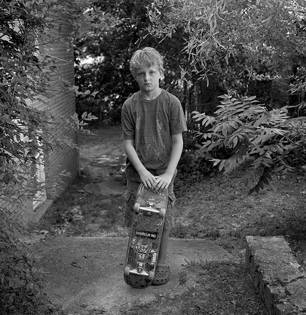 Wyatt with skateboard (2010)