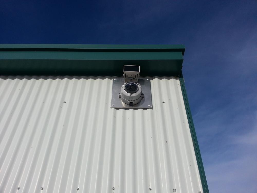 HD Dome Camera with External IR
