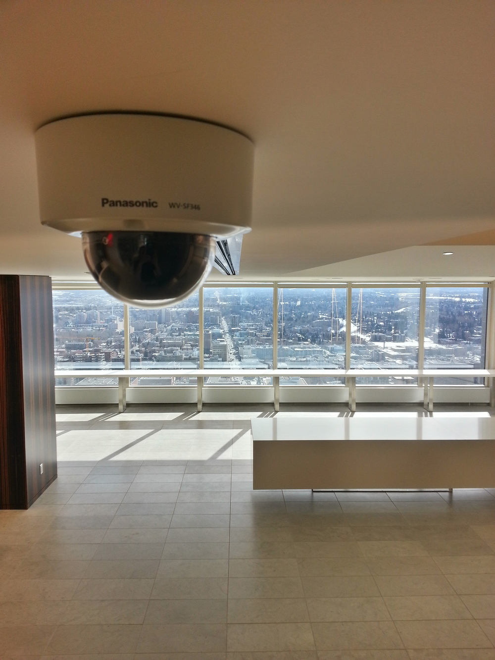 Panasonic HD Dome Camera