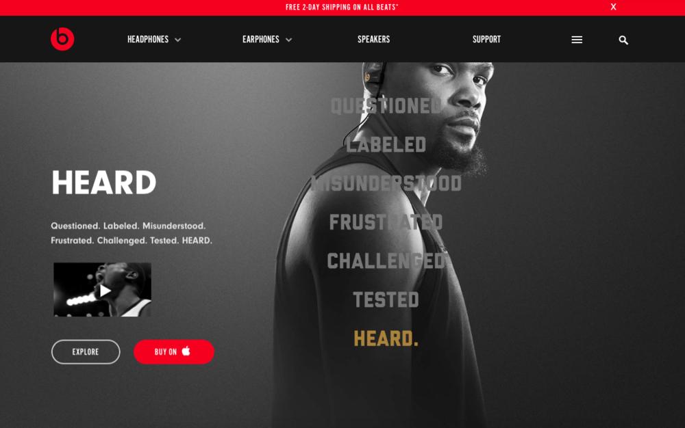 Beatsbydre.com hero resolve.