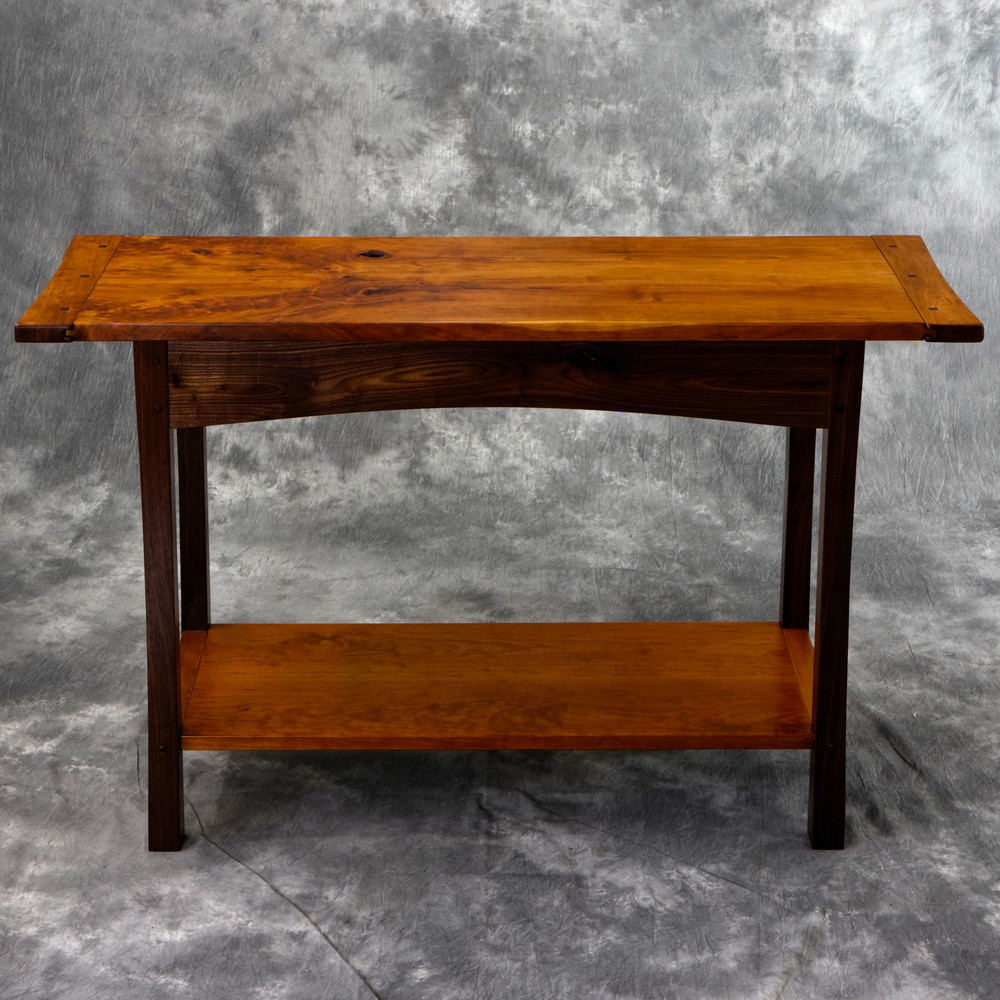 Cherry & Walnut Hall Table