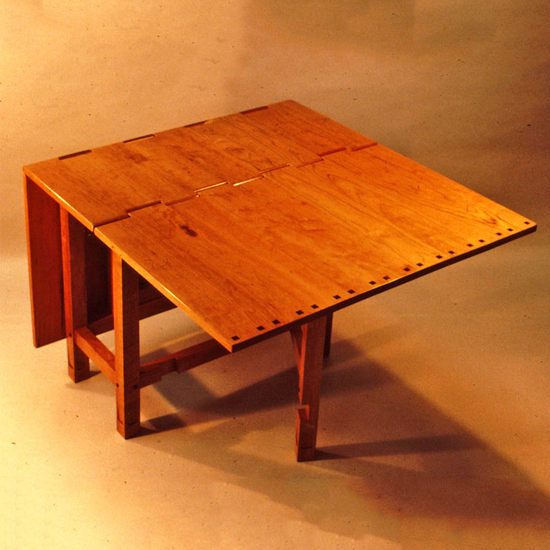 Wooden Hinge Drop Leaf Table