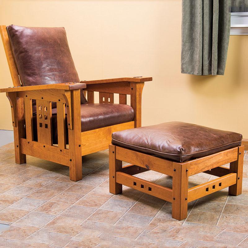 Morris Chair & Ottoman
