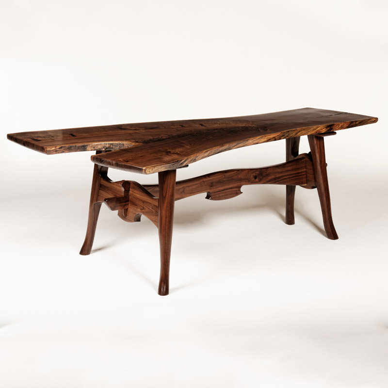 """Expectations"" : Black Walnut Desk"