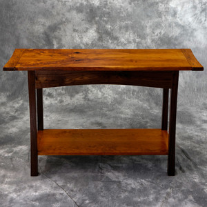 Walnut & Cherry Hall Table