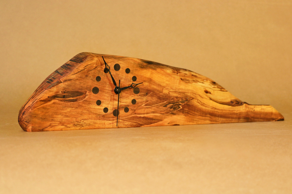Maple Tabletop Clock