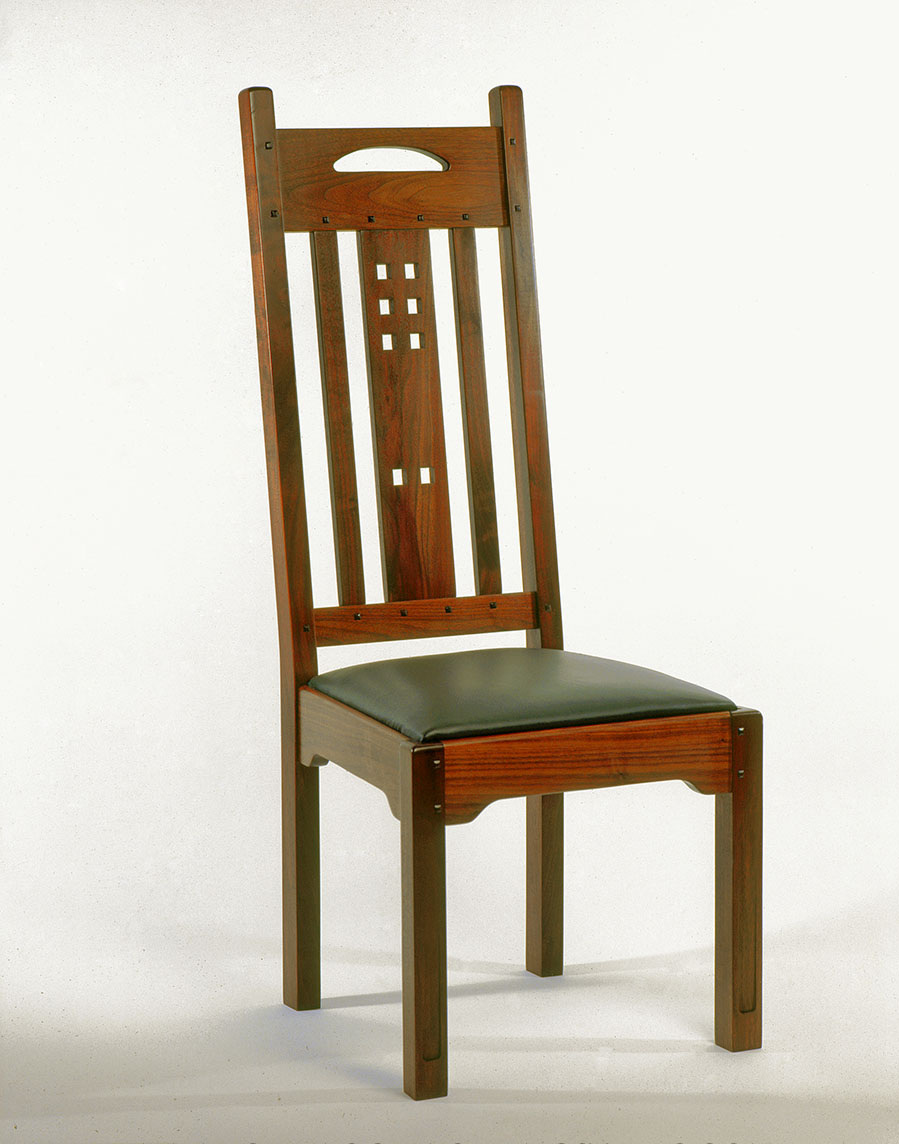 Arts and Crafts Style Dining Chair (without arms)