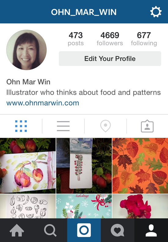Instagram for illustrators