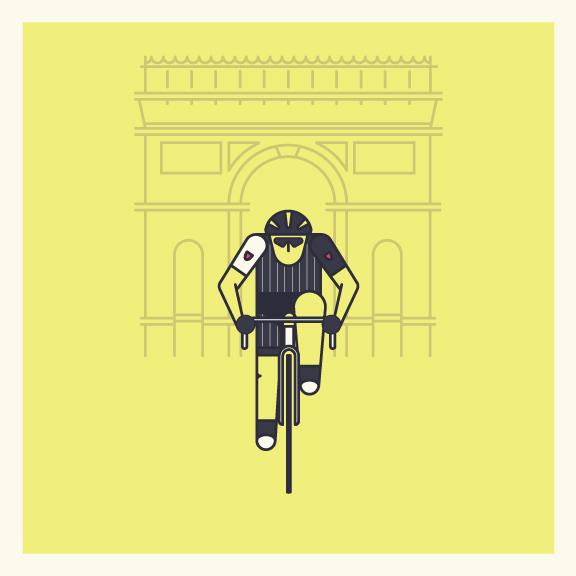 Jens Voigt's 'au revoir' attack on the  Champs-Élysées .