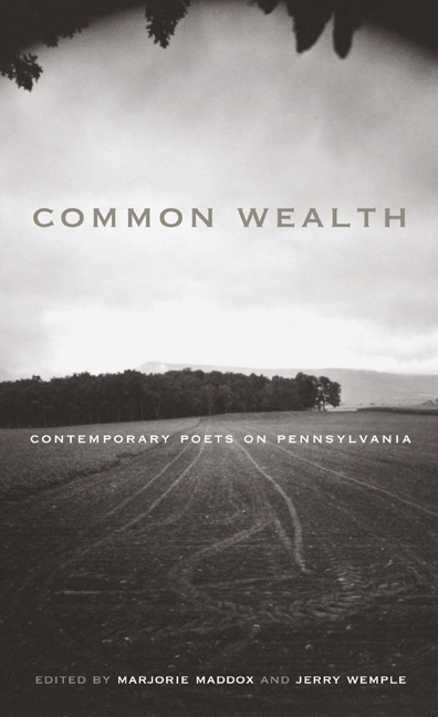 Common Wealth Contemporary Poets on Pennsylvania coverjpg