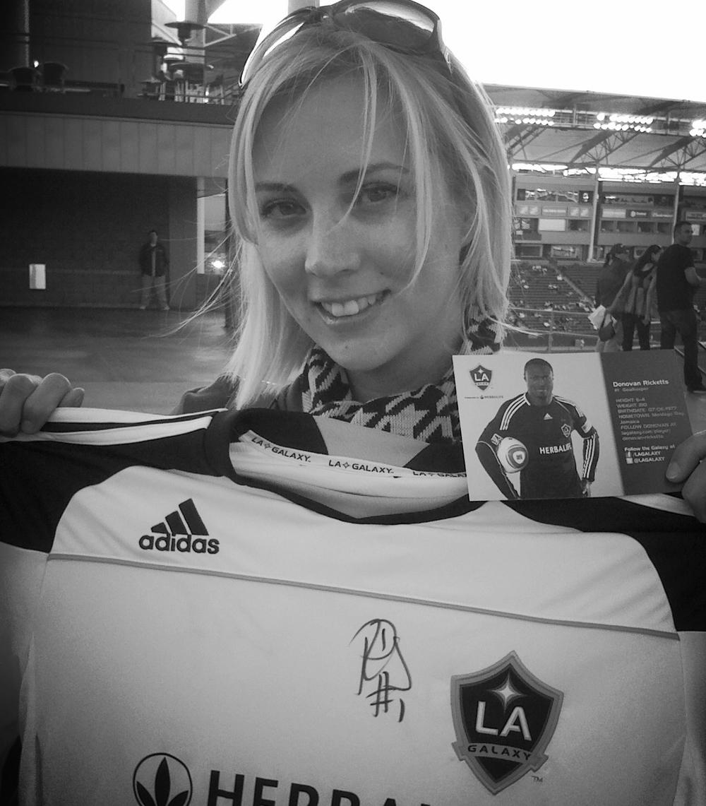 @ LA Galaxy Match