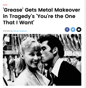 Youre The One That I Want Grease