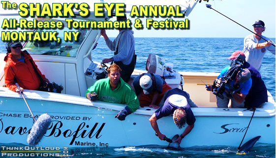 Tournament and Festival event producers and Emcees. Implementation of shark-release fishing best practices. logistical management of competition and satellite tagging. Live streaming producers and directors of educational outreach during three-day event.